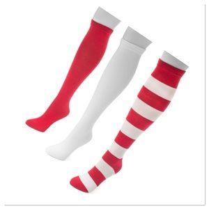 🎁 Red & White 3 pr Knee High Socks